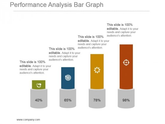 Performance Analysis Bar Graph Powerpoint Shapes