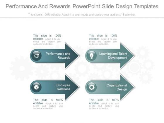 Performance And Rewards Power Point Slide Design Templates