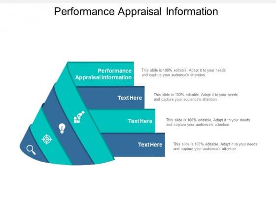 Performance Appraisal Information Ppt PowerPoint Presentation Portfolio Examples Cpb