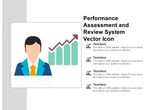 Performance Assessment And Review System Vector Icon Ppt PowerPoint Presentation Inspiration Picture