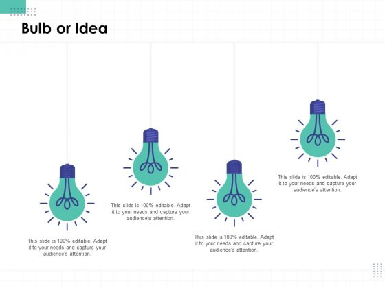 Performance Assessment Bulb Or Idea Ppt Gallery Design Templates PDF