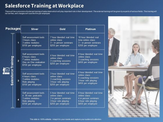 Performance Assessment Sales Initiative Report Salesforce Training At Workplace Ppt Icon Templates PDF
