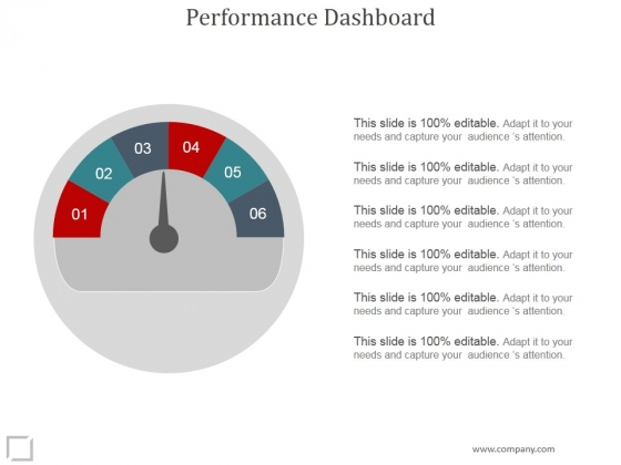 Performance Dashboard Ppt PowerPoint Presentation Template