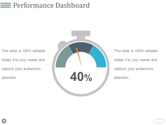 Performance Dashboard Ppt PowerPoint Presentation Visual Aids Example 2015