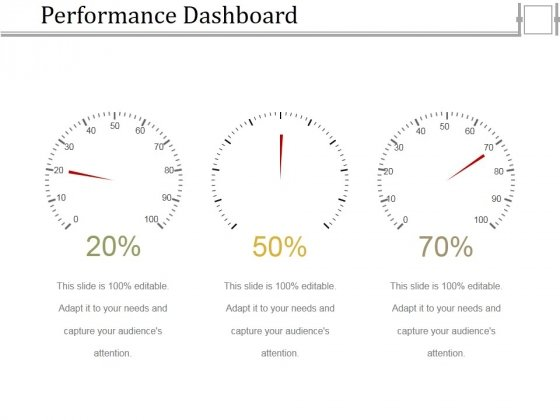 Performance Dashboard Template 1 Ppt PowerPoint Presentation Model Topics