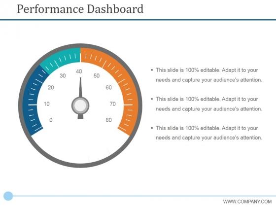 Performance Dashboard Template 1 Ppt PowerPoint Presentation Portfolio Format