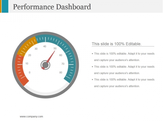 Performance Dashboard Template 1 Ppt PowerPoint Presentation Summary Example Topics