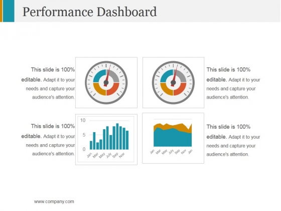 Performance Dashboard Template 2 Ppt PowerPoint Presentation Model Format