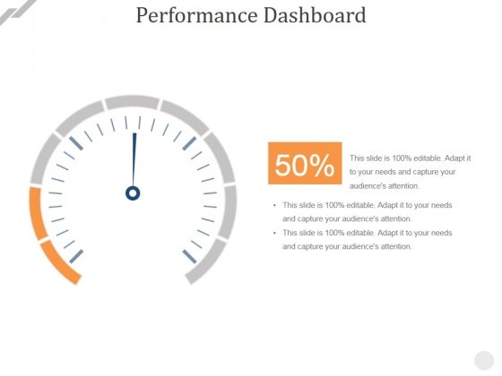 Performance Dashboard Template 2 Ppt PowerPoint Presentation Picture