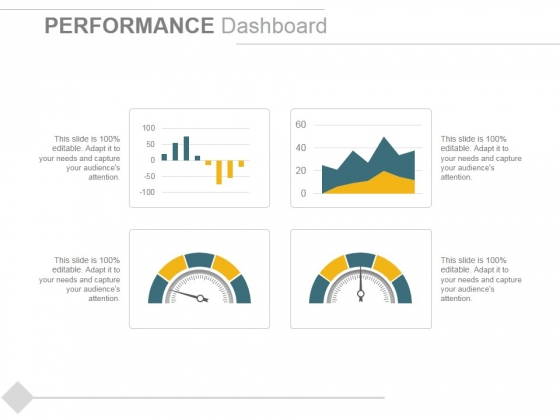 Performance Dashboard Template 2 Ppt PowerPoint Presentation Show Backgrounds