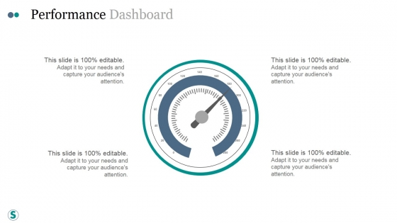 Performance Dashboard Template Ppt PowerPoint Presentation Topics