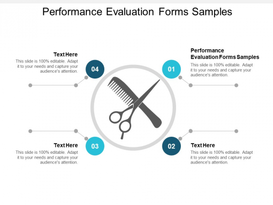 Performance Evaluation Forms Samples Ppt PowerPoint Presentation Gallery Rules Cpb