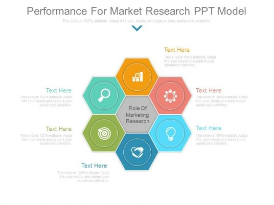 Performance For Market Research Ppt Model