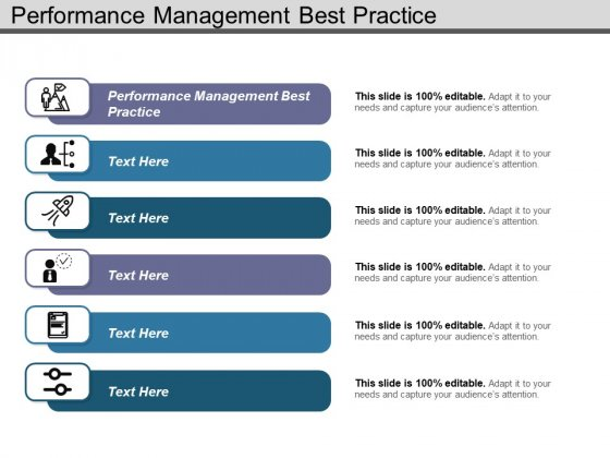Performance Management Best Practice Ppt PowerPoint Presentation Show Graphics