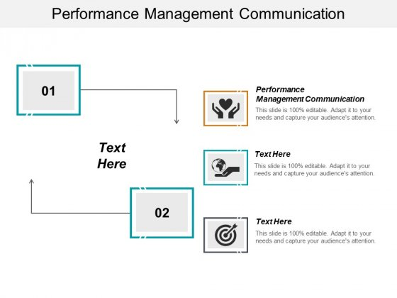 Performance Management Communication Ppt PowerPoint Presentation Slides Sample Cpb