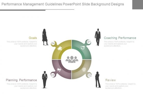 Performance Management Guidelines Powerpoint Slide Background Designs