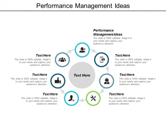 Performance Management Ideas Ppt Powerpoint Presentation Pictures Slide Cpb