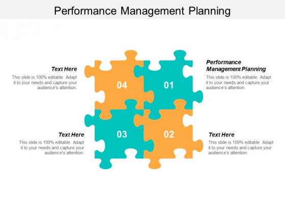 Performance Management Planning Ppt PowerPoint Presentation Gallery Slide Cpb