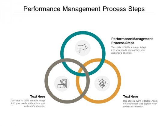 Performance Management Process Steps Ppt PowerPoint Presentation Infographic Template Objects Cpb