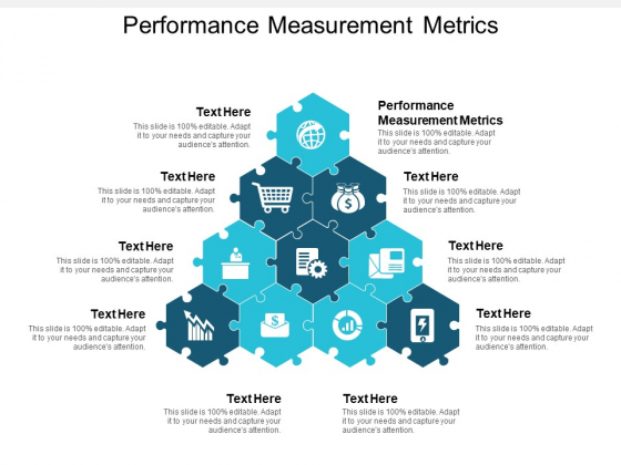 Performance Measurement Metrics Ppt PowerPoint Presentation Inspiration Icon Cpb