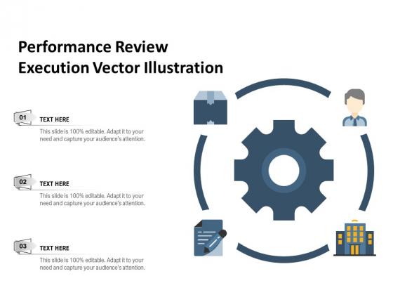 Performance Review Execution Vector Illustration Ppt PowerPoint Presentation Gallery Pictures PDF