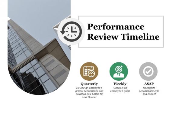 Performance Review Timeline Ppt PowerPoint Presentation Professional Slide Portrait