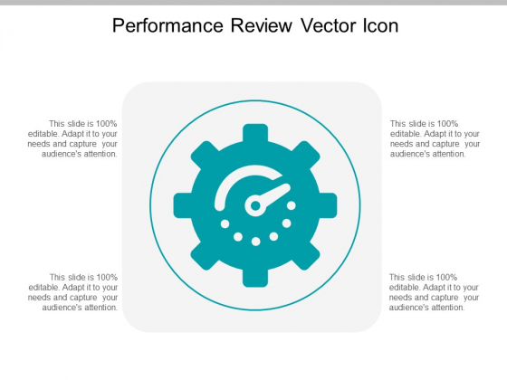 Performance Review Vector Icon Ppt Powerpoint Presentation Pictures Example