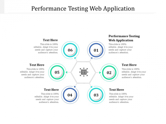 Performance Testing Web Application Ppt PowerPoint Presentation Summary Template Cpb Pdf