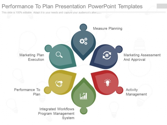 Performance To Plan Presentation Powerpoint Templates