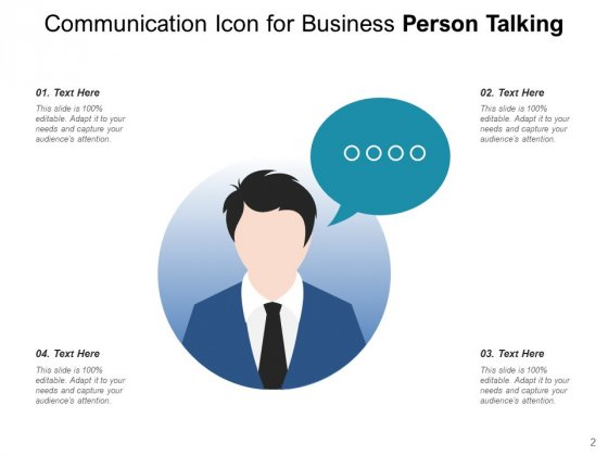 Person_Speaking_Icon_Speech_Bubble_Management_Ppt_PowerPoint_Presentation_Complete_Deck_Slide_2