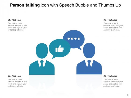 Person_Speaking_Icon_Speech_Bubble_Management_Ppt_PowerPoint_Presentation_Complete_Deck_Slide_5