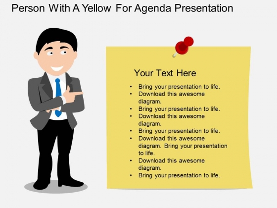 Person with paper for business agenda presentation powerpoint person with paper for business agenda presentation powerpoint template powerpoint templates cheaphphosting Choice Image