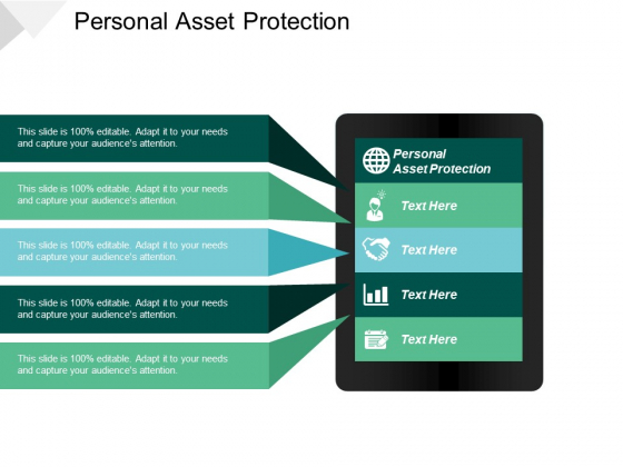 Personal Asset Protection Ppt PowerPoint Presentation Pictures Design Inspiration Cpb