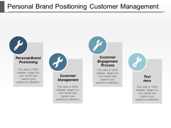 Personal Brand Positioning Customer Management Customer Engagement Process Ppt PowerPoint Presentation Infographic Template File Formats