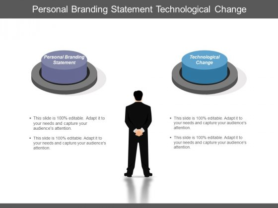 Personal Branding Statement Technological Change Ppt PowerPoint Presentation Outline Deck