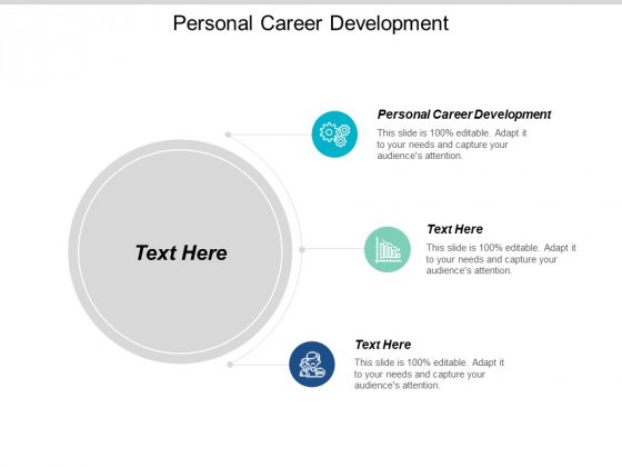 Personal Career Development Ppt PowerPoint Presentation Slides Background Image Cpb
