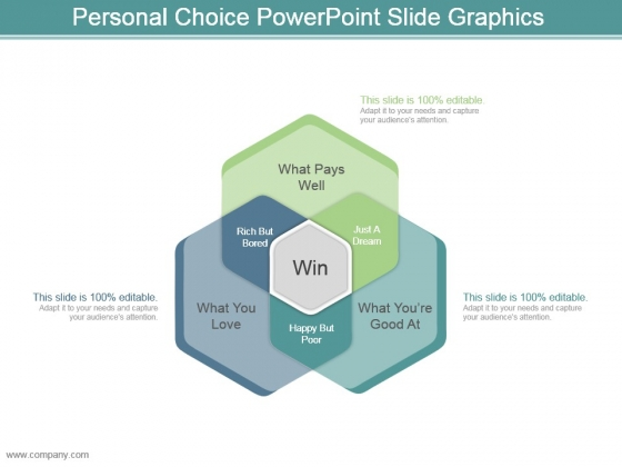 Personal Choice Powerpoint Slide Graphics