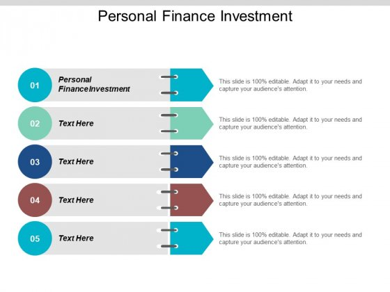 Personal Finance Investment Ppt PowerPoint Presentation Infographics Layout Cpb