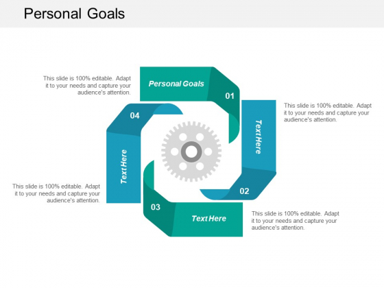 Personal Goals Ppt PowerPoint Presentation Professional Slides Cpb