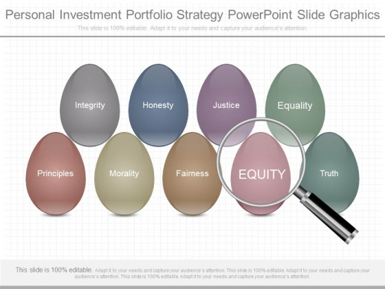 Personal Investment Portfolio Strategy Powerpoint Slide Graphics