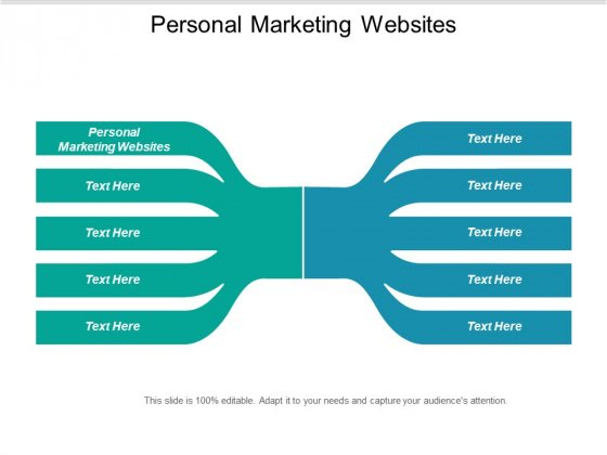 Personal Marketing Websites Ppt PowerPoint Presentation Ideas Brochure Cpb