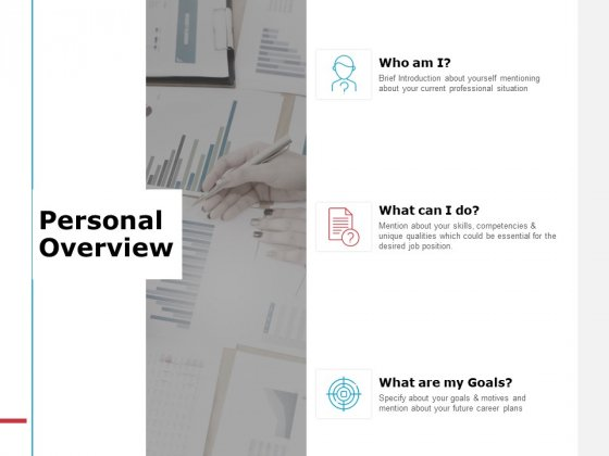 Personal Overview Ppt PowerPoint Presentation Infographics Graphic Images