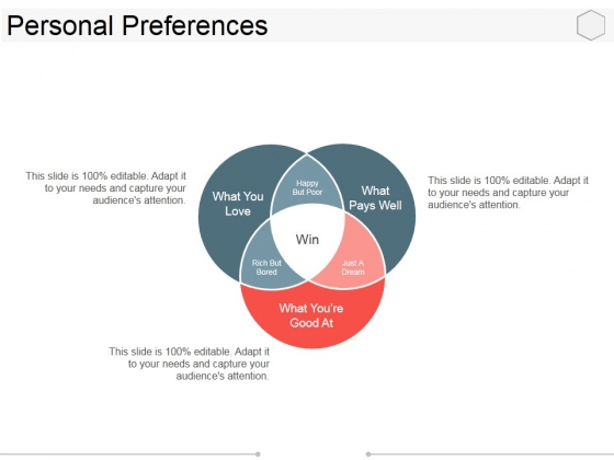 Personal Preferences Template 2 Ppt PowerPoint Presentation Gallery Maker