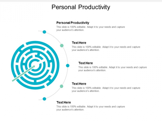 Personal Productivity Ppt PowerPoint Presentation Infographic Template Templates Cpb