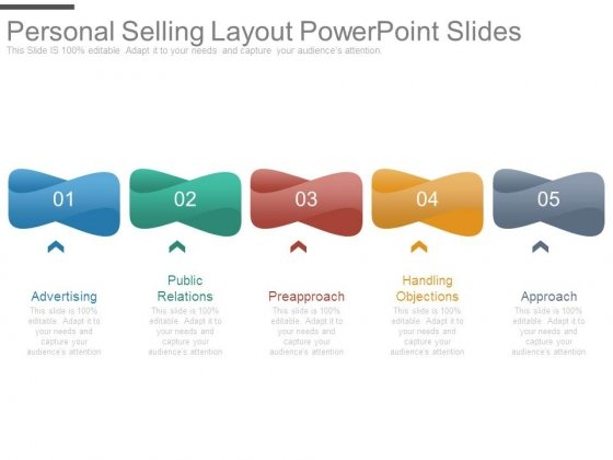 Personal Selling Layout Powerpoint Slides
