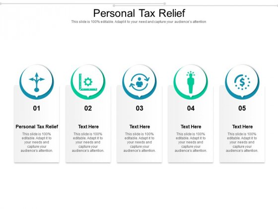 Personal Tax Relief Ppt PowerPoint Presentation Infographic Template Rules Cpb Pdf