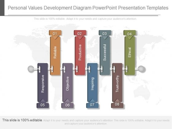 Personal Values Development Diagram Powerpoint Presentation Templates