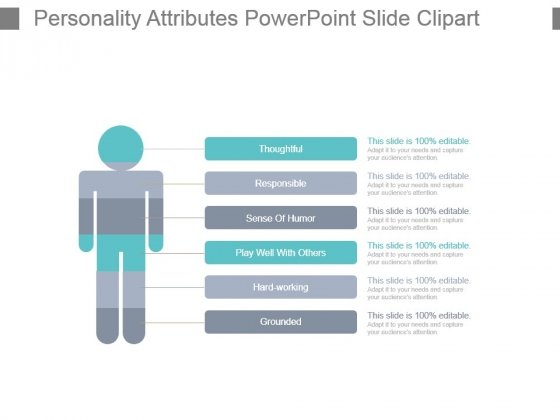 Personality Attributes Powerpoint Slide Clipart