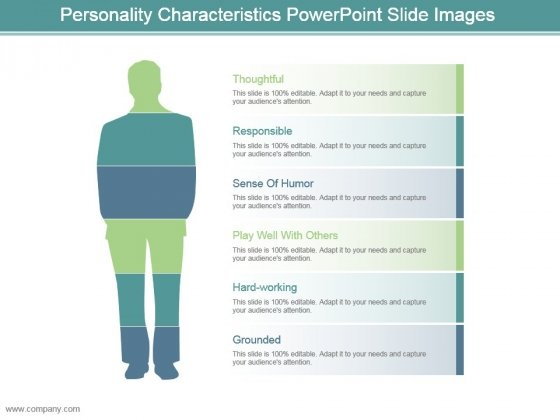 Personality Characteristics Powerpoint Slide Images
