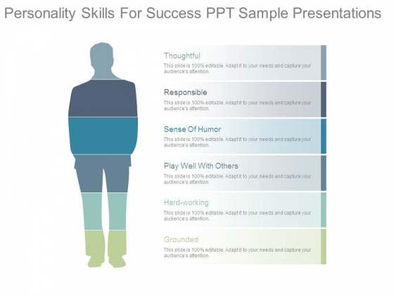 Personality Skills For Success Ppt Sample Presentations